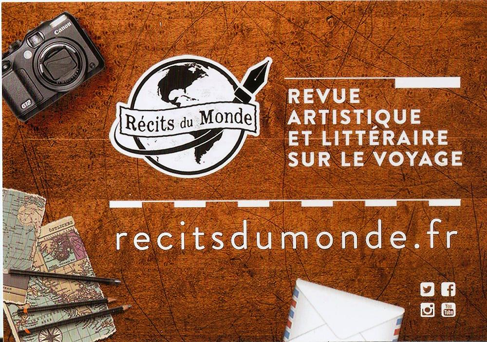 Récits du Monde, revue artistique et littéraire sur le voyage