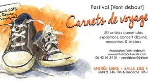 Festival Vent Debout des Carnets de Voyages