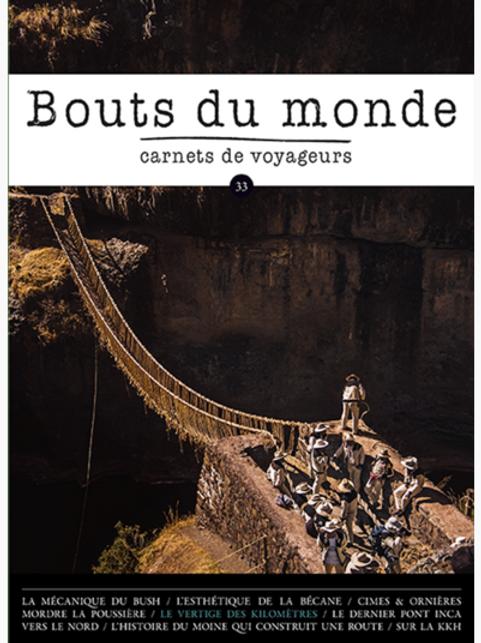 Revue Bouts du Monde n°33 - Hiver 2018