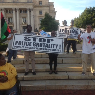 POP JOINS NATIONAL DAY OF PROTEST  AGAINST POLICE BRUTALITY