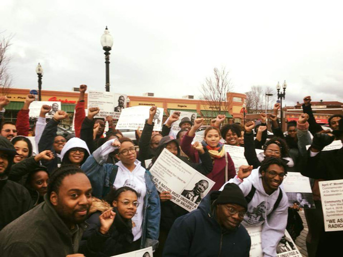 Boston Workers, Youth, and Community Activist  Commemorate 50th Anniversary  of Dr. King's Assassina