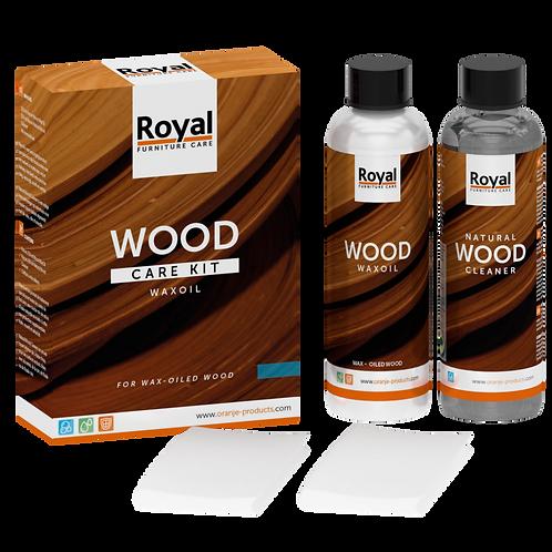 Royal furniture care - wood care kit waxoil