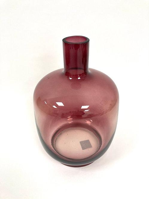 Vaas - bordeaux/glas