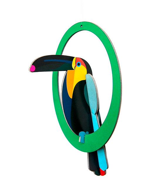 Pop out card - Toucan