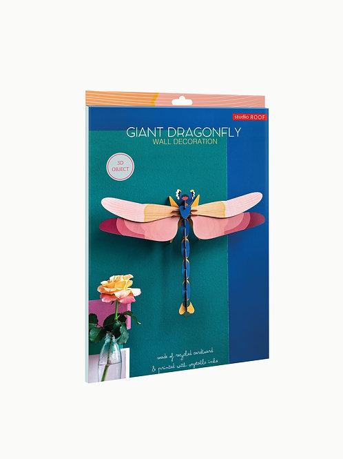 Muurdecoratie - Giant dragonfly