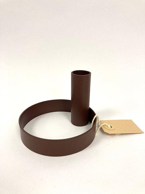 Kandelaar - brick/staal