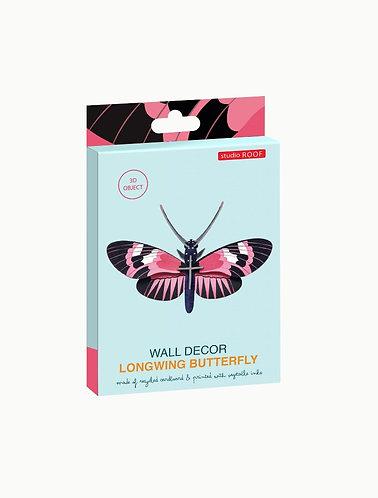 Muurdecoratie - longwing butterfly
