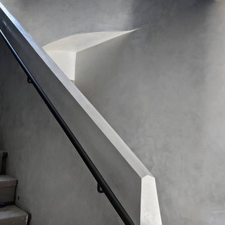 Marble Plaster Staircase