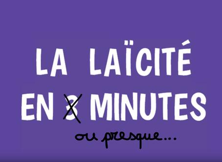 Vidéo : mieux cerner la laïcité en 3 minutes