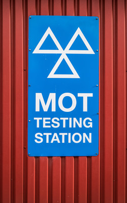 A Motor Ordinance Test (MOT) Station Sig