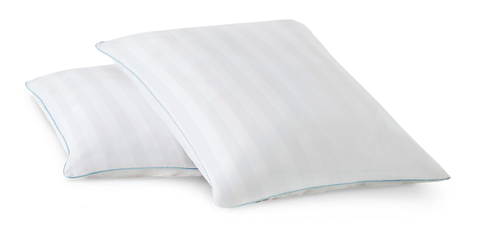Shapeable Memory Foam Cluster Pillows Antimicrobial Comfort Any Sleep Position
