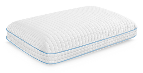 Queen Gel Memory Foam Pillow Antimicrobial Cooling All Sleep Positions
