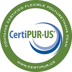 CertiPur-US Contains Certified Flexible Polyurethane Foam