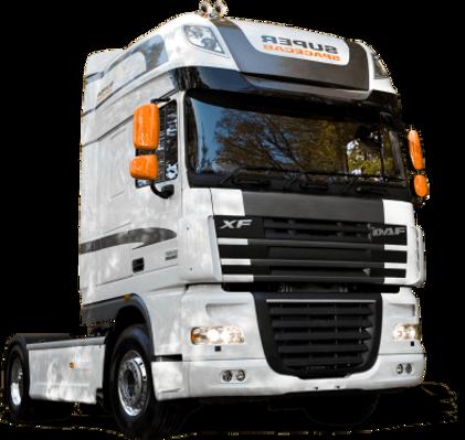 Выкуп грузовиков и тягачей DAF
