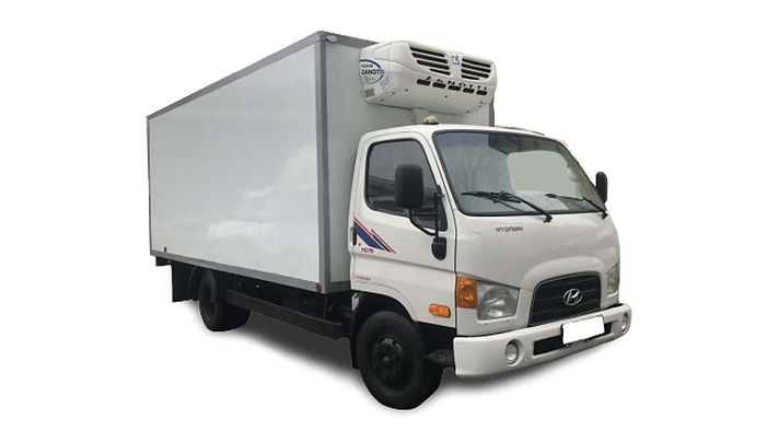 Коммерческий грузовик Hyundai HD78 2013 год с рефрижератором Zanotti