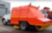 механическая подметально-уборочная машина 1800 л, на шасси ГАЗ-3309