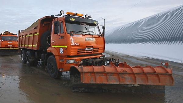 выкуп снегоуборочной технии КАМАЗ
