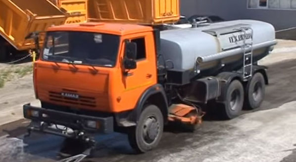 поливальная машина КАМАЗ
