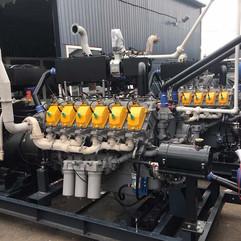 Газовый генератор 3000 кВт (3 мвт) гпу-3
