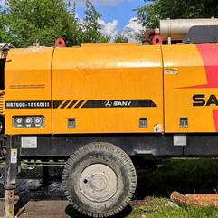 Бетононасос Sany HBT60С-1816D