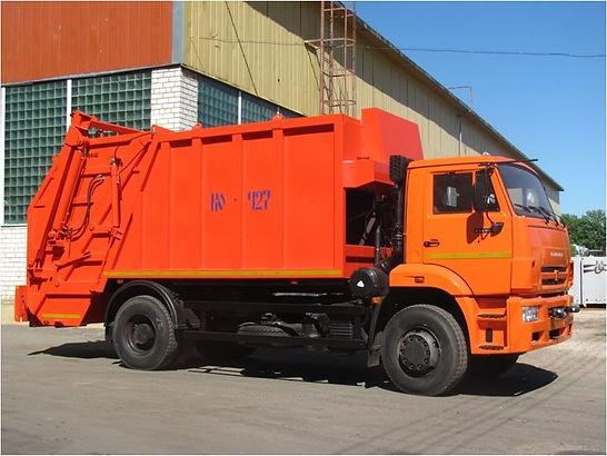 Мусоровоз 16 куб КО-440 В КОММАШ на шасси КамАЗ-53605