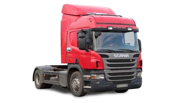седельный тягач Scania P340 (скания) 2011