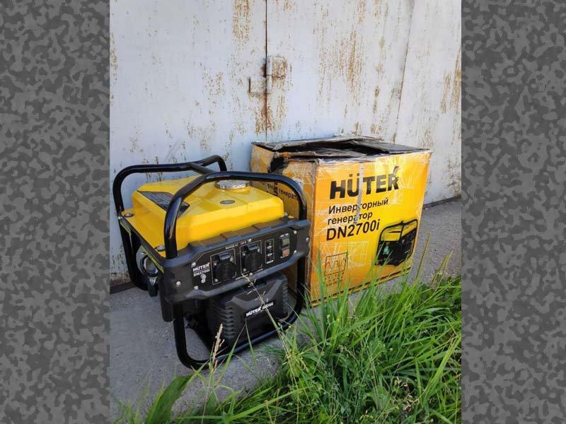 Бензиновый генератор hunter DN 2700i.jpg