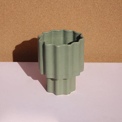 Tilde Tapered Vase SMALL - Bluegum