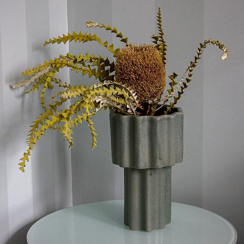 Tilde Tapered Vase - TALL - bluegum