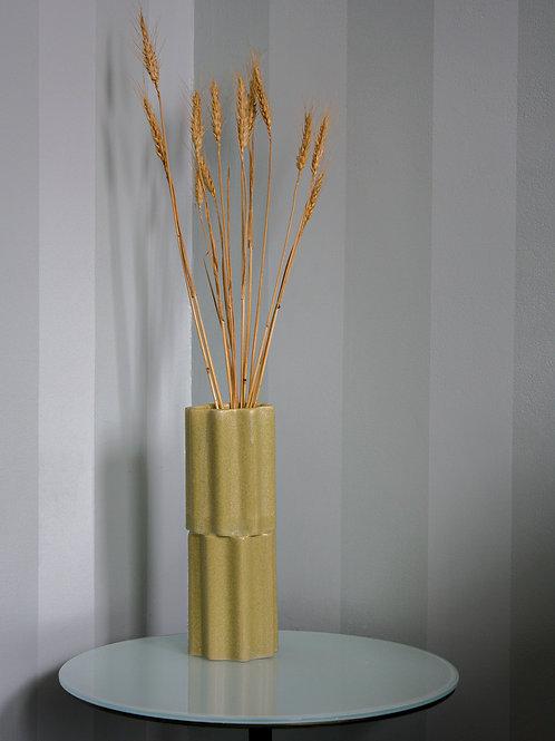 Tilde Stacked Vase SKINNY - wheat