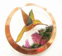 """Hummingbird & Fused """"flowers"""""""