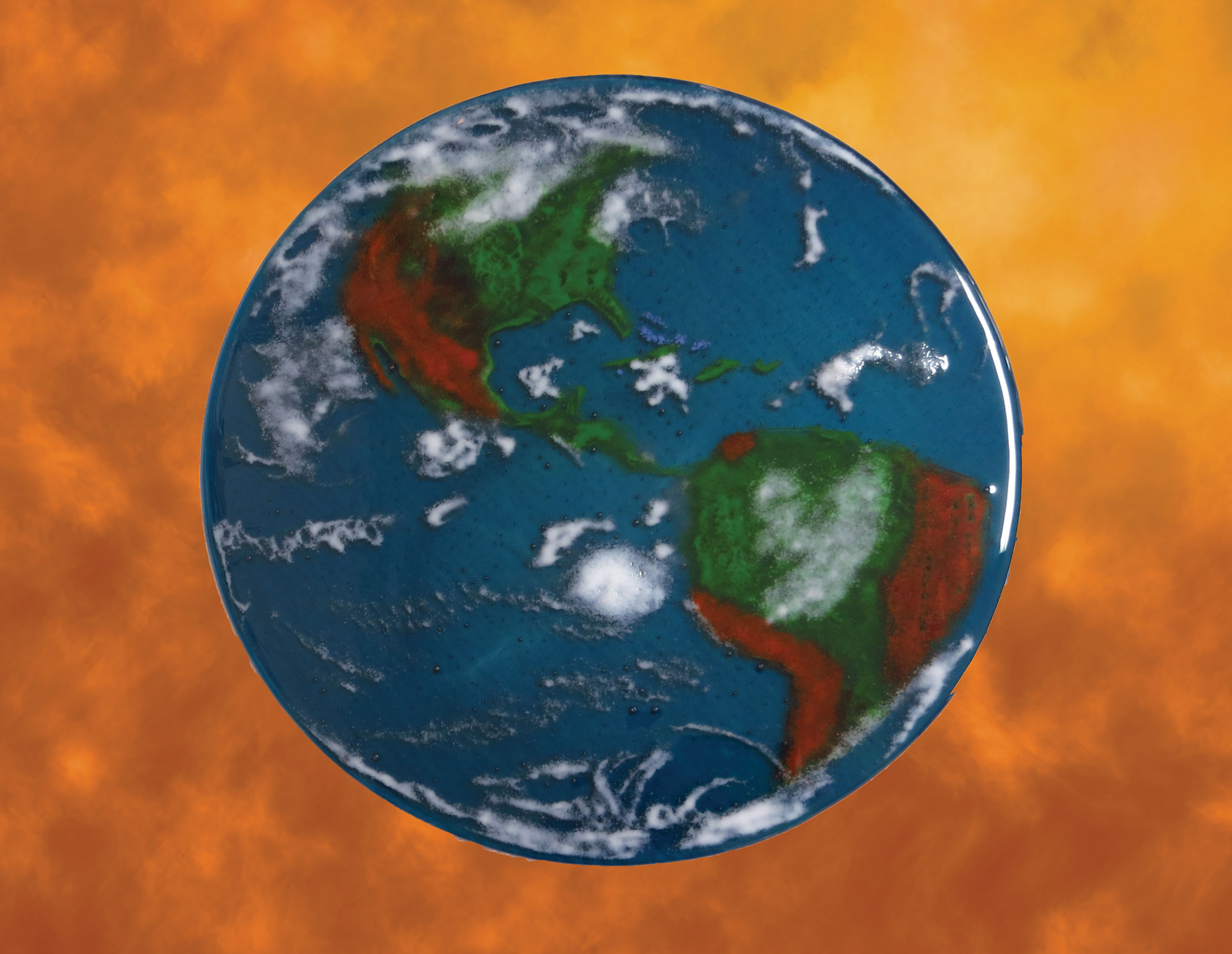 Planet Earth Window