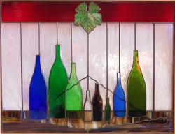 Wine-Bottles-Grape-Leaf
