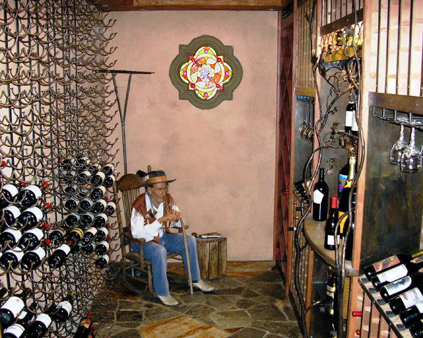 Hendricks-Ranch-stained-glass-wine-cellar