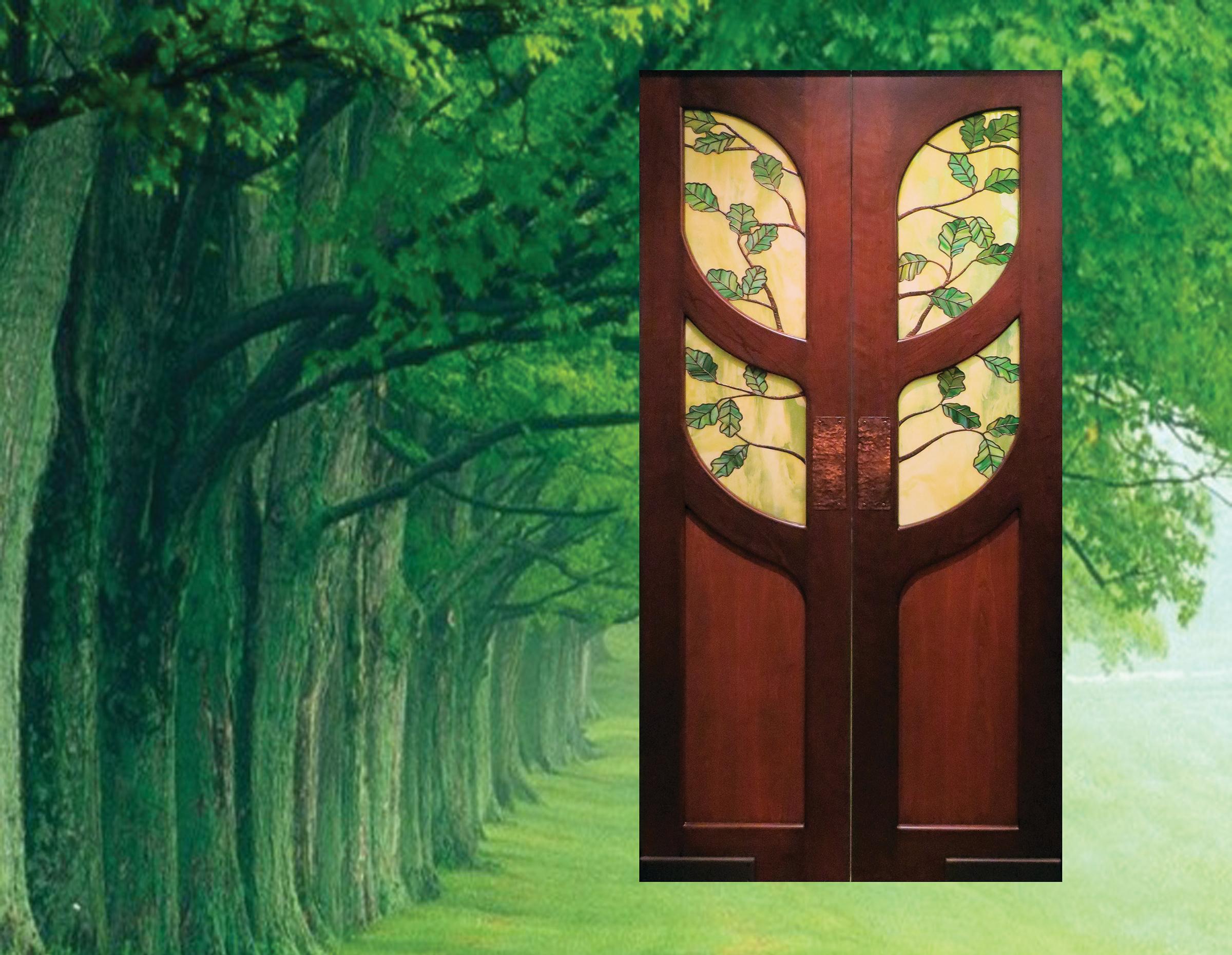 calendar-oak-tree-door
