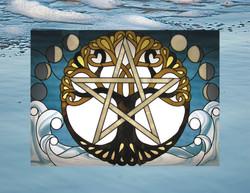 calendar-tree-moon-wave-pentagram-on-background
