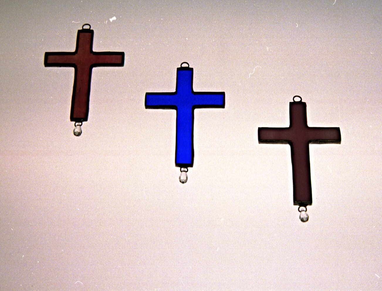 Crosses with Crystals
