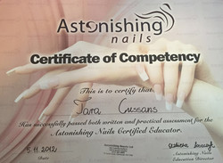 Astonishing Nails Certified Educator