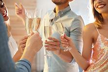 Cocktail reception pour un évènement professionnel à Genève