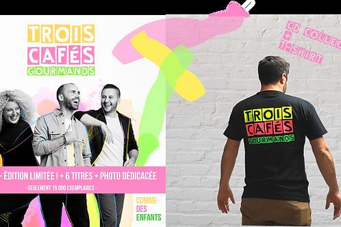 PACK -Nouvel Album - Comme des enfants-Edition Collector + 1  T-shirt