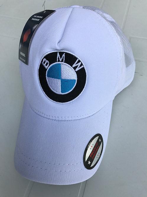 Boné BMW branco