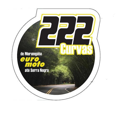 Adesivo 222 curvas