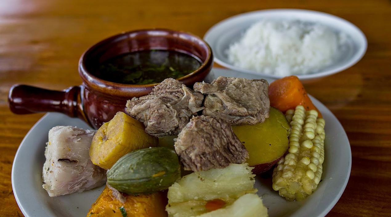 Olla de Carne Costa Rican Food