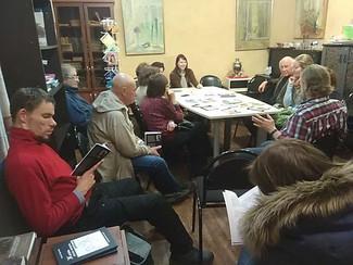 В Московском союзе литераторов прошла творческая встреча с Ксенией Кротовой
