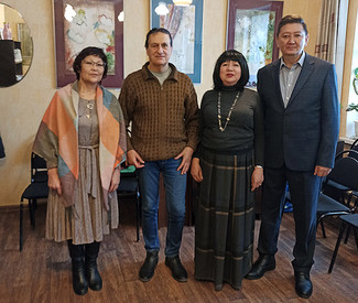 Руководство МСЛ встретилось с членами киргизского литературного клуба «Москва кайрыктары»