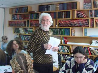 Виктор Кротовпровёл мастер-класс на  Конференции христианских молодёжных лидеров