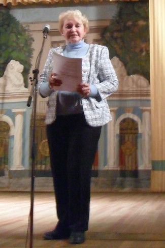 Лариса Адлина в Центральном Доме учёных