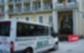 Taxi vid Hotel Salzburgerhof i Bad Gastein