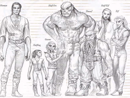 Halflings and how to make use of the other races. Fifth Edition D&D Design for the Malazan world.