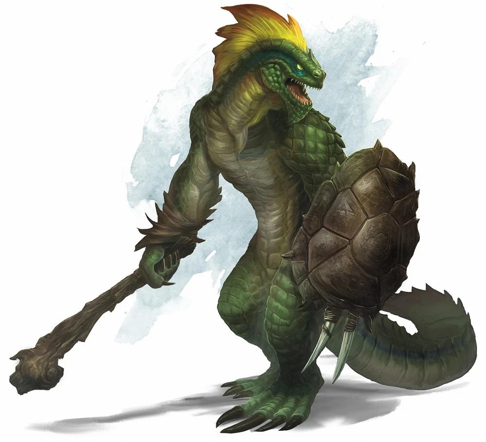 Lizardfolk dungeons and dragons 5e D&D